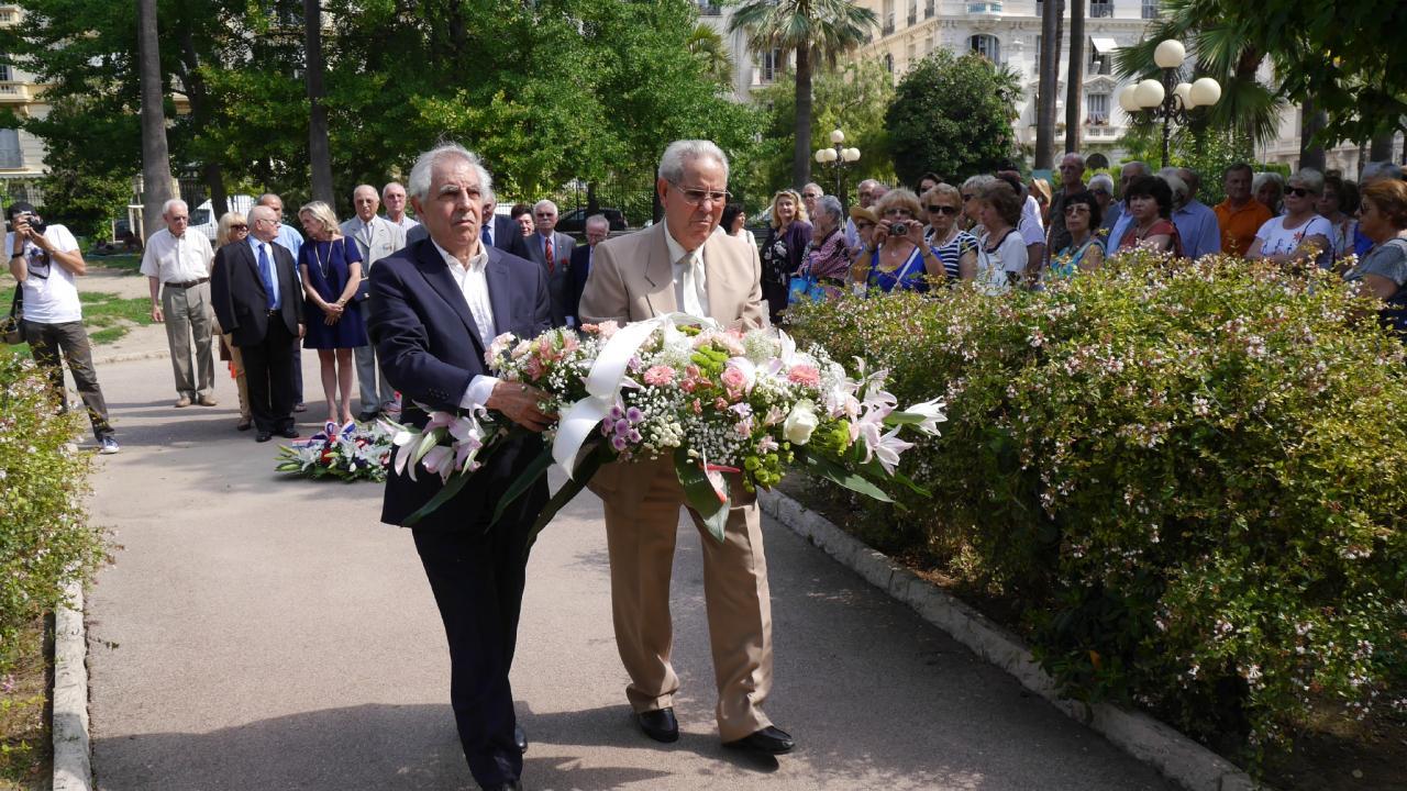Commémoration 2015, Nice