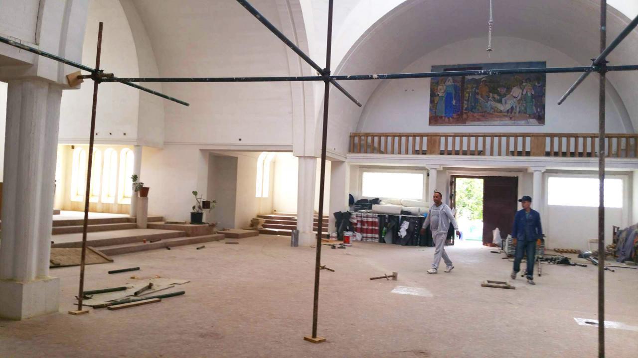 Point sur les travaux à Oran, mai 2017