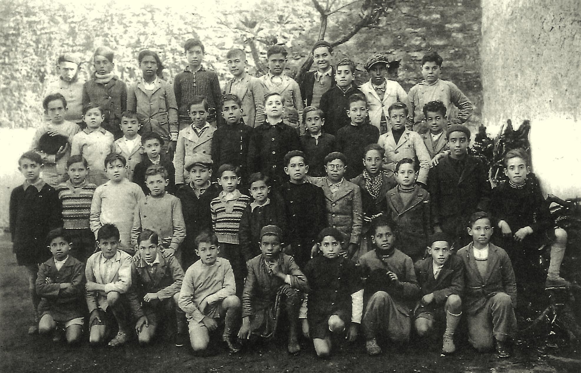 Lourmel - Classe de M. Choukroun - 1936