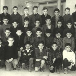 École de garçons - CP - 1956