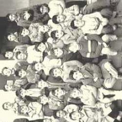 École Abadie - Classe de fin d'étude - 1958