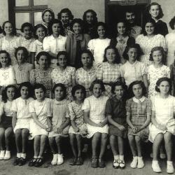 Lamoricière - Classe de Mme Blanchard - 1937