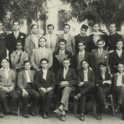 Lamoricière - Classe de 3eA - 1930