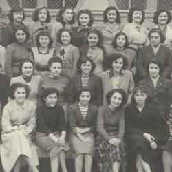 Sediman - Classe de 3e - 1951