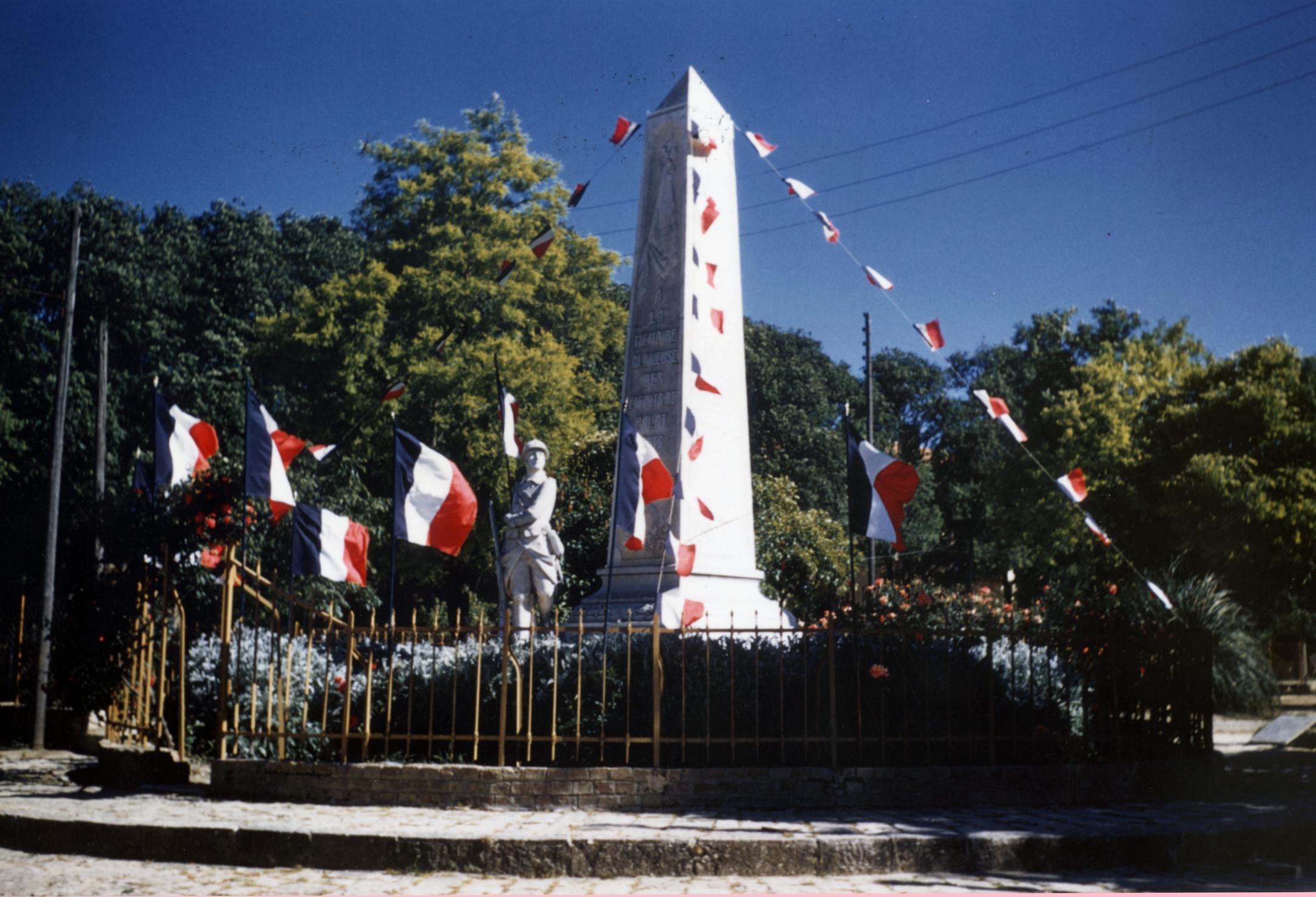 Palat - Monument aux morts