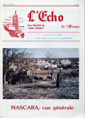 Echo de l'Oranie - n°160 - mai 1982