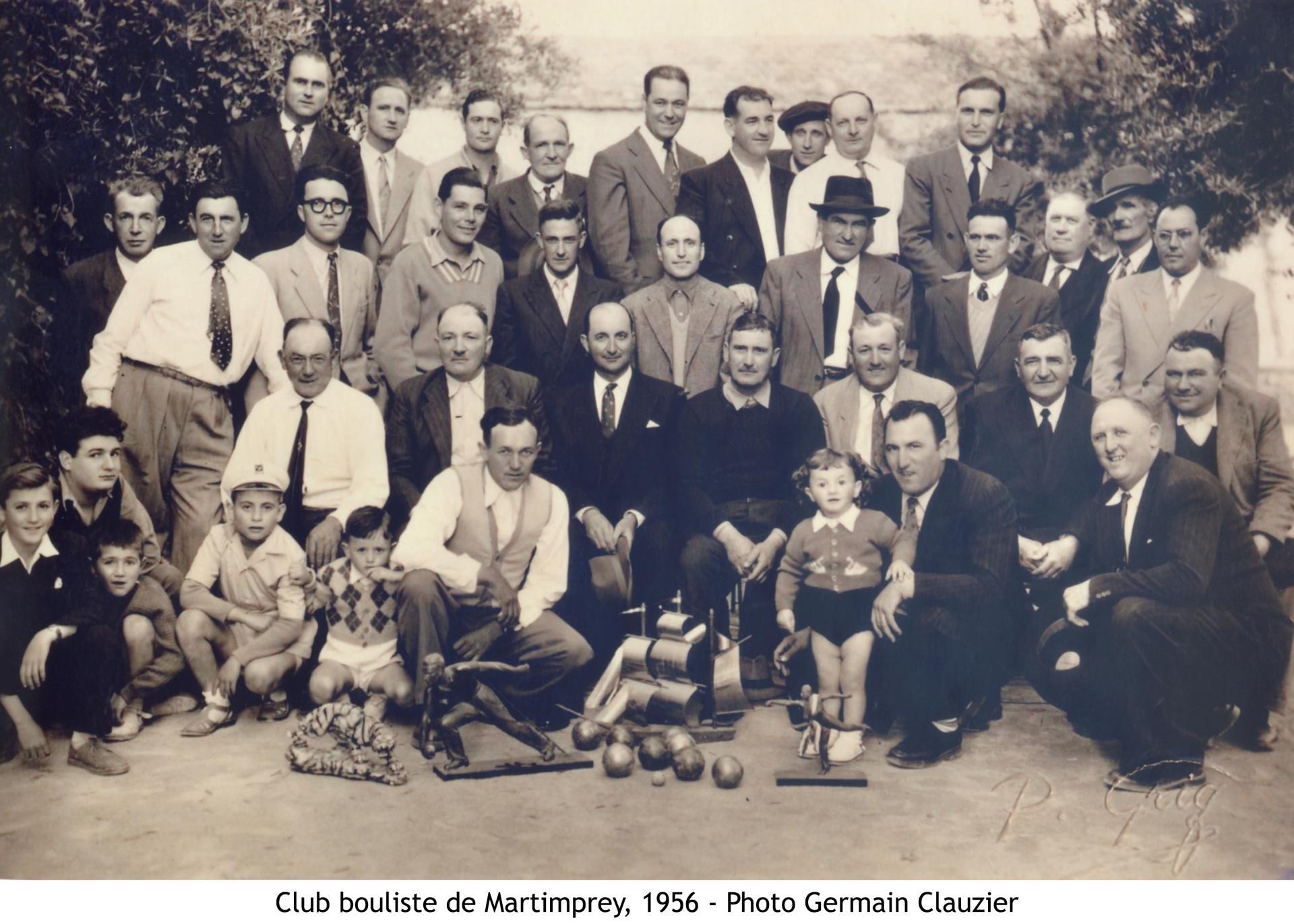 1956 club bouliste