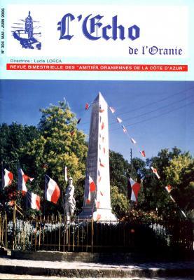 Echo de l'Oranie - n° 304 - Mai 2006