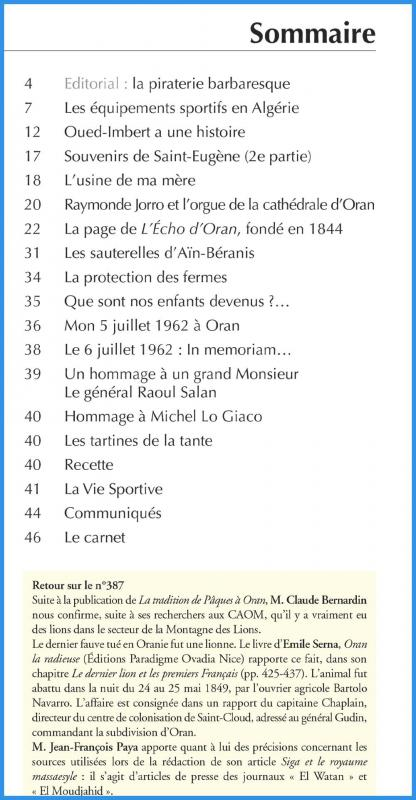 389 sommaire