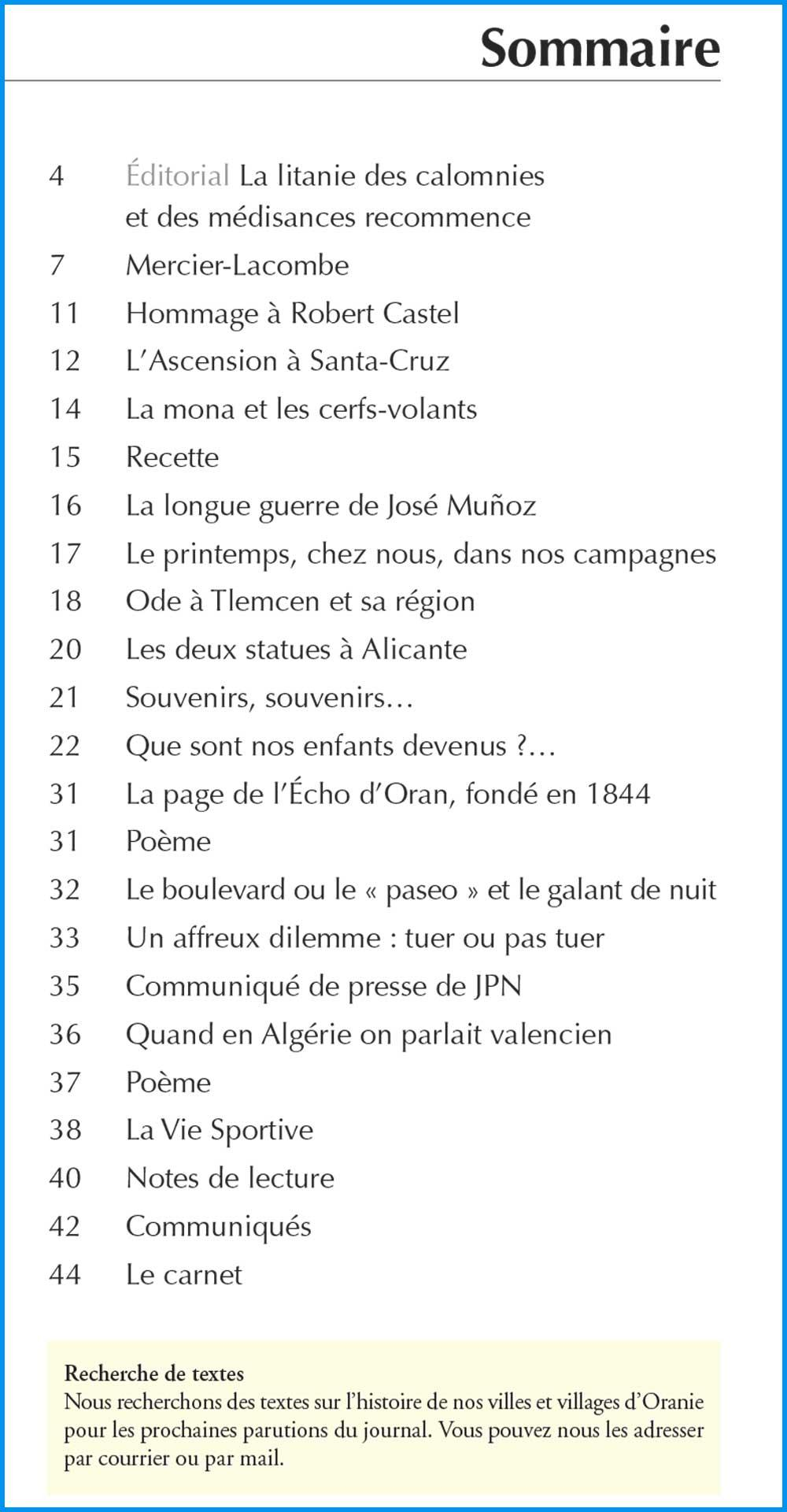 393 sommaire