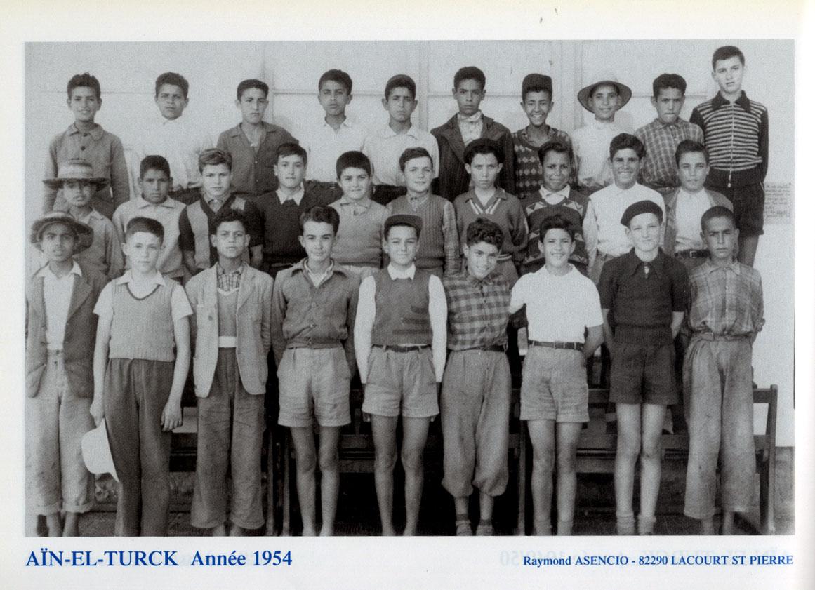 Classe d'Aïn-El-Turck - 1954