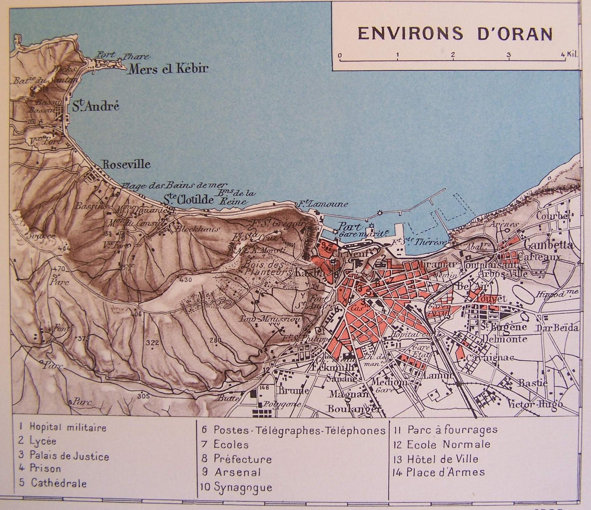 Environs d'Oran